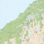 REG250-12_NZ_Rural_Road_Map_South_Westland