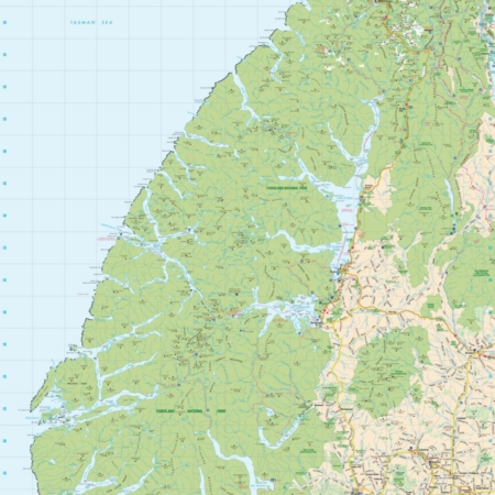 REG250-16_NZ_Rural_Road_Map_Fiordland