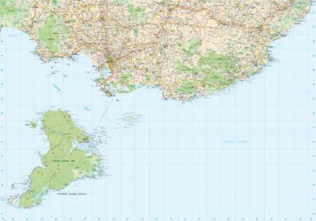 REG250-18_NZ_Rural_Road_Map_Stewart_Island