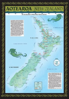 New Zealand Maori Map.Maori Maps Pukapuka Mapco Nz Ltd Maori Pacific Island And New