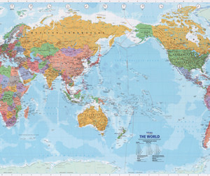 World Maps MapCo NZ Ltd Maori Pacific Island And New Zealand Maps - World map new zealand