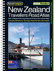 KIW204 - NZ Travellers Road Atlas