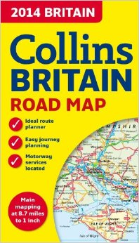 SHP203 - Collins Britain Road Map (Folded)