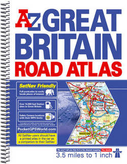 SHP204 - Great Britain Road Atlas A-Z Spiral