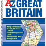 SHP205 - Great Britain Handy Atlas Spiral A-Z