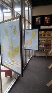 Te Ika & Te Wai Charts in Library